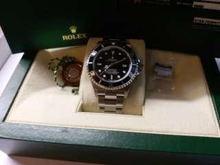 勞力士Rolex 16600 sea-dweller M頭卡95新