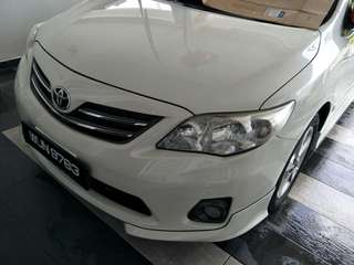 Toyota altis 1.8e sporty sedan