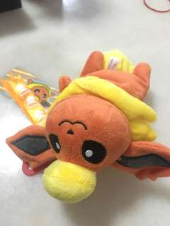 Pokémon center Flareon plush keychain