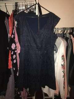 Portmans Navy Dress size 14