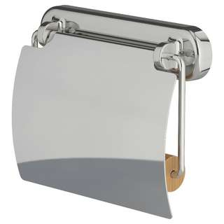 IKEA VOXNAN Toilet roll holder, chrome effect