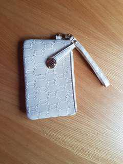 Simple white purse