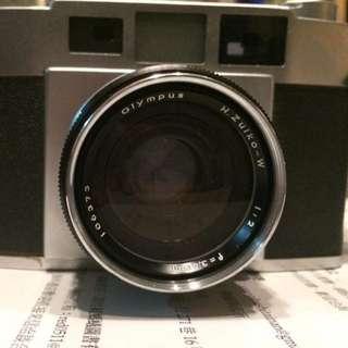 OLYMPUS WIDE-S 日版八枚玉 35mm/f2.0