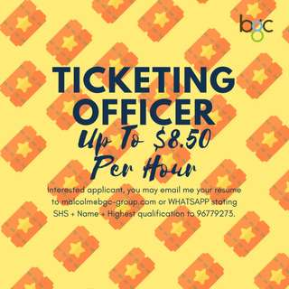 ATTRACTION TICKETING OFFICER (UP TO $8.50 | 3 MTHS)