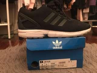 Adidas ZX Flux black&white mens US8