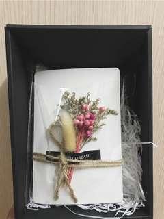 畢業/生日 乾花賀卡