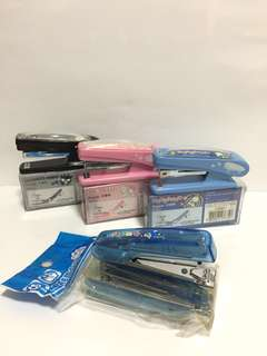 Sanrio small Stapler XO, PC 狗, My Melody & 叮噹細釘書機(Brand new 全新)