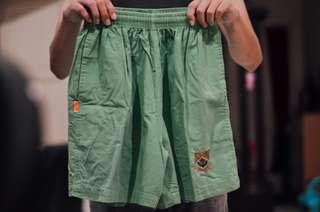Celana pendek/boxer hijau