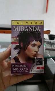 Cat rambut ungu