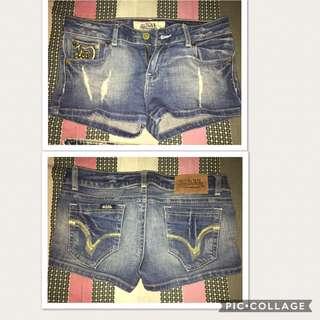 Von Dutch jeans short (original)