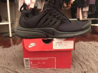 Nike Presto Black Grey US8