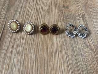 復古二手耳環
