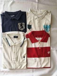 4 Branded Polo Shirt dari Singapore Giordano