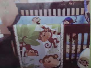 FREE DELIVERY! Crib bumper + crib dust ruffle Now comes with FREE fitted mattress cover.