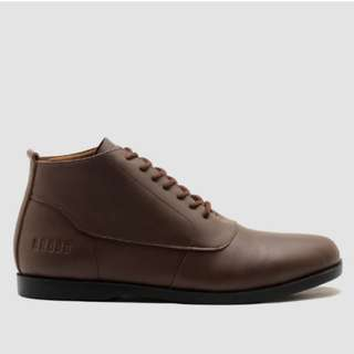 Brodo SIMA Brown Black Sole Size 44