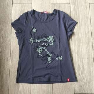 Retro Blue Esprit/EDC Pirates Graphic Tee