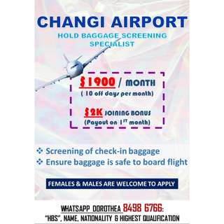 HOLD BAGGAGE SCREENING SPECIALIST