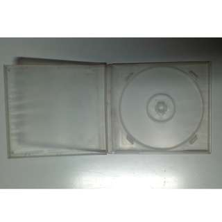 Poly transparent single CD Cases