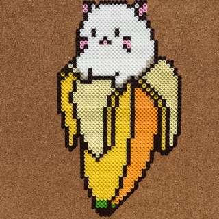Cat in Banana