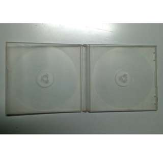 Poly transparent double CD cases