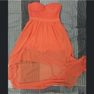 Forever 21 High-low tube dress