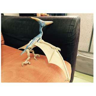 Rare Hasbro Kenner Jurassic Park 1 Pteranodon Flying Dinosaur Steel Beak Wings Collector's Collectibles Figurines Jurassic World