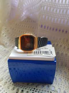 Casio Black and Gold (A168WEGB)