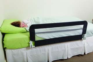 Dreambaby Harrogate Bed Rail - navy blue