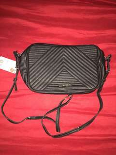 brandnew mango touch sling black bag