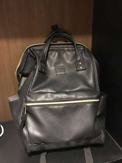 Authentic Anello leather backpack not jansport herschel