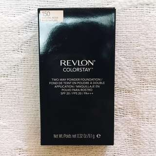 REPRICED Revlon Colorstay Two-Way Powder Foundation (Shade 150 Natural Beige)