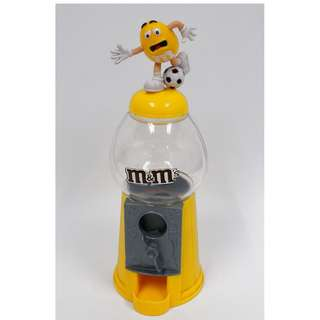Collectible M&M's Chocolate Dispenser (Measurements: approx. 22cm in height)