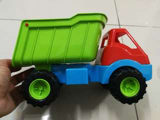 Trucks by dantoy not fisher price
