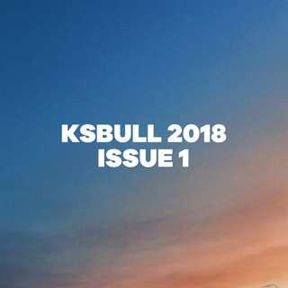 KSBULL 2018 (Issue 1)