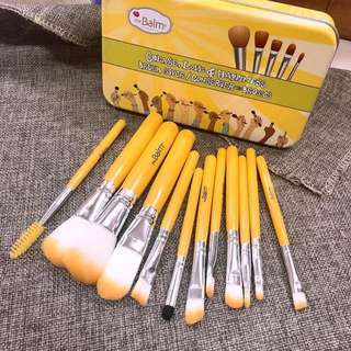 the balm 12 pcs brush set