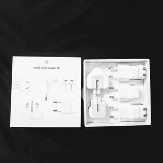 NEW APPLE World Travel Adapter Kit