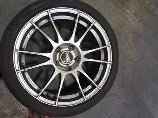 18 inch OZ Racing Ultraleggera