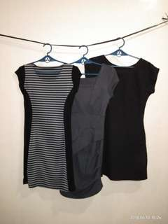 3 IN 1  DRESS PACKAGE! Black and gray