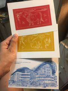 香港 生肖 明信片 卡 card