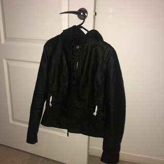 Leather jacket - tags still attached