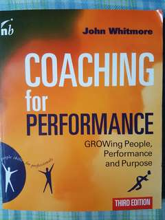 Coaching for performance (Third edition)