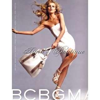 🚚 BCBG MAXAZRIA RUNWAY 白色 垂墜 平口 洋裝 限量走秀款 No.24