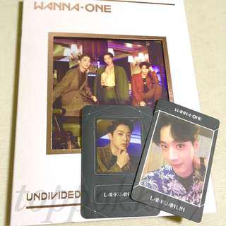 Wanna one undivided no. 1 ver