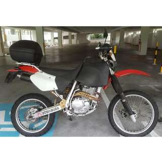 Honda XR400 for sale $4800.