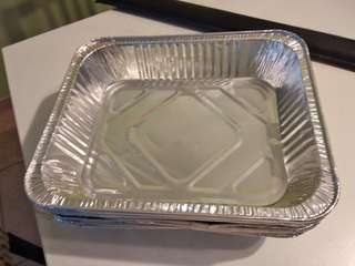 BBQ foil trays