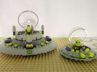 Lego UFO Abduction