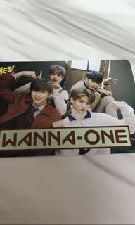 Wanna one  daniel yes card 夜光卡