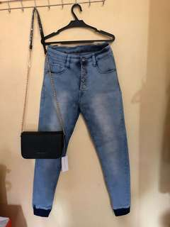 High Waisted Jeans (Skinny)
