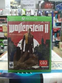🆕 Xbox One Wolfenstein II The New Colossus