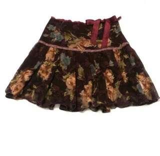 專櫃 0918 蕾絲及膝裙